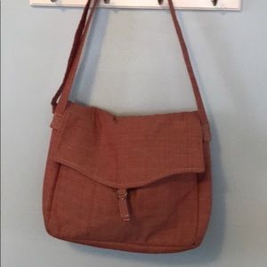 French General Canvas Messenger Style Bag